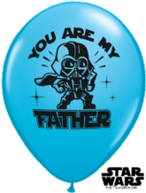 Star Wars 'Father' Balloons - 11 Inch Balloons (25pcs)